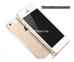 Iphone 5s gold à 5800dhs